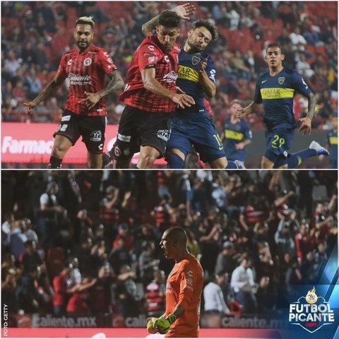 Resultado Xolos Tijuana vs Boca Juniors – Amistoso