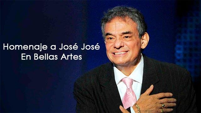 Homenaje a José José en Bellas Artes en Vivo – Miércoles 9 de Octubre del 2019