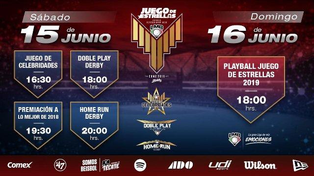 Programación Fin de Semana Liga Mexicana de Beisbol (LMB)
