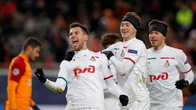 Resultado del Lokomotiv Moscow vs Galatasaray – Fase Grupos – Champions League