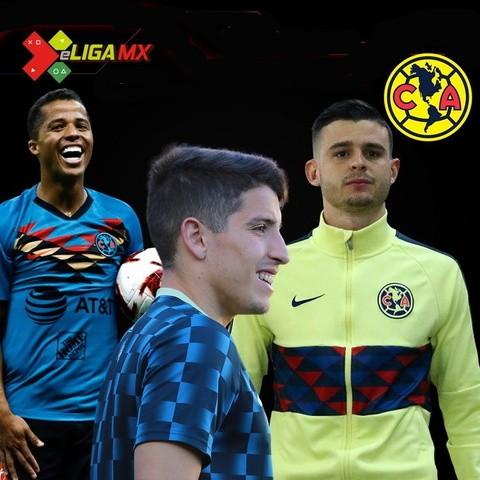 Representantes de America en la eLiga MX