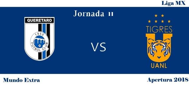 Querétaro vs Tigres – Transmisión por TV, fecha y hora
