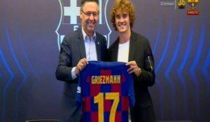 Griezmann ya tiene dorsal  es el 17