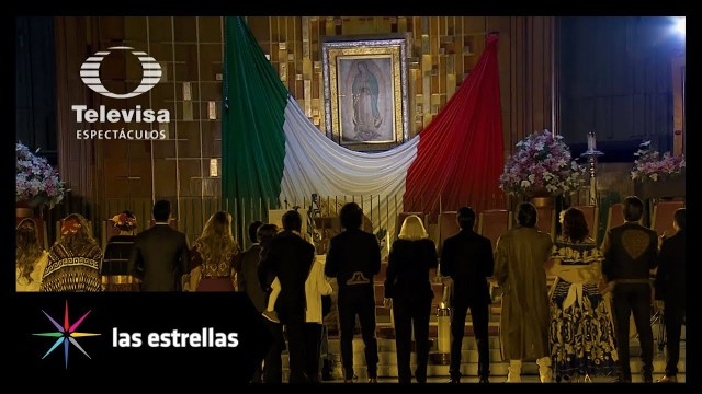 Mañanitas a la Virgen de Guadalupe Televisa en Vivo – Miércoles 11 de Diciembre del 2019