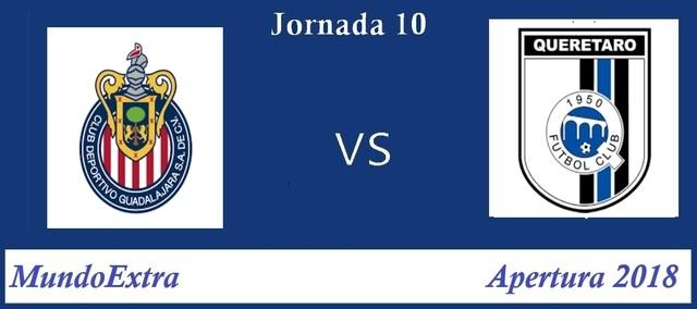 Chivas vs Querétaro – Transmisión por TV, fecha y hora