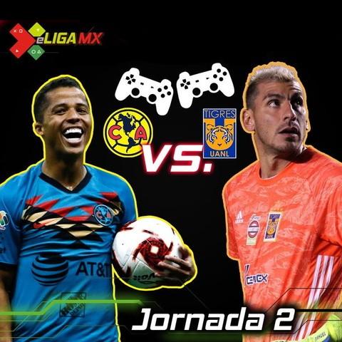 Resultado América vs Tigres -J2 – eLiga MX FIFA 20
