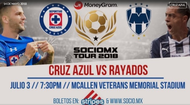 Cruz Azul ya tiene su primer partido de pretemporada