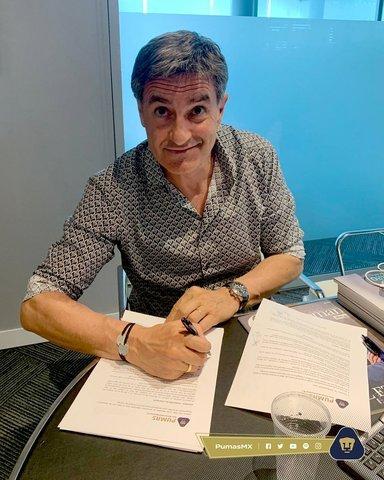 Míchel González es el nuevo director técnico de Pumas