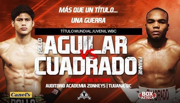 Omar Alejandro Aguilar vs Francisco Cuadrado en Vivo – Box – Sábado 12 de Octubre del 2019