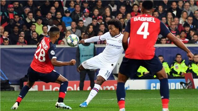 Resultado Lille vs Chelsea- Fase de Grupos -J2-  Champions League