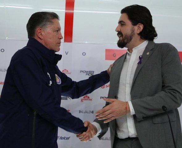Chivas presenta a Ricardo Peláez como nuevo Director Deportivo
