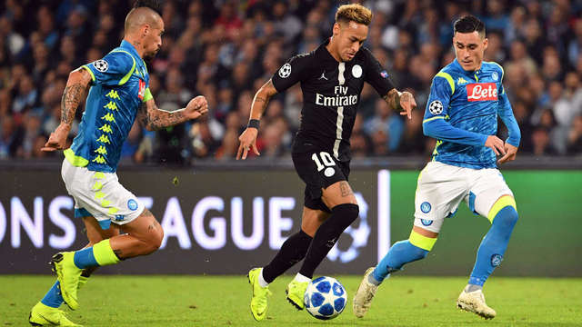 4757ad60bcb62 Resultado del Napoli vs PSG – Fase Grupos – Champions League