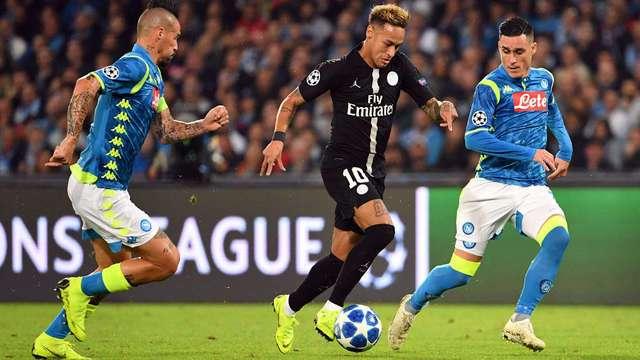 Resultado del Napoli vs PSG – Fase Grupos – Champions League