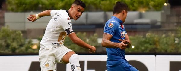 Pablo Barrera asegura estar contento y tranquilo en Pumas