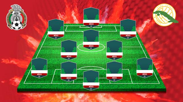 Alineación de México vs Cuba – Copa de Oro 2019