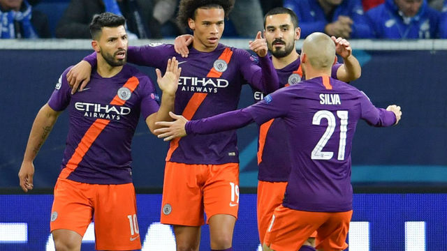 Resultado del TSG Hoffenheim vs Manchester City – Fase Grupos – Champions League