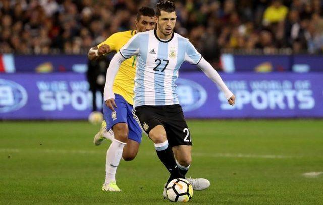 Guido Rodríguez será titular en la copa América