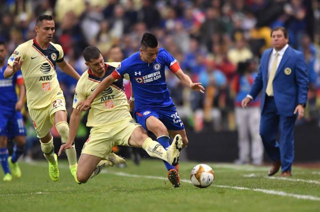 Resultado America vs Cruz Azul  J14 de Clausura 2019