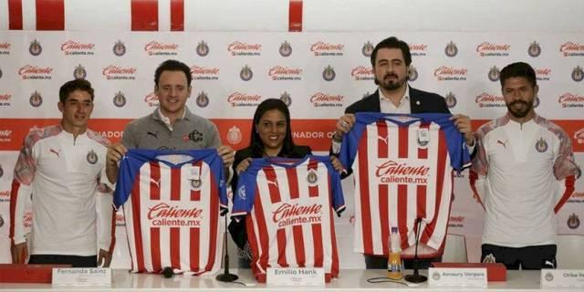 Chivas presentó a su nuevo patrocinador