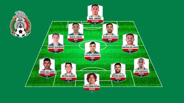 La selección mexicana del Tata Martino en la Copa Oro