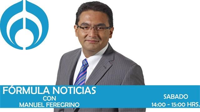 Fórmula Noticias con Manuel Feregrino en Vivo – Sábado 31 de Agosto del 2019