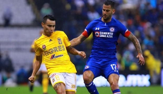 Resultado Cruz Azul vs Tigres en J3 de Apertura 2018