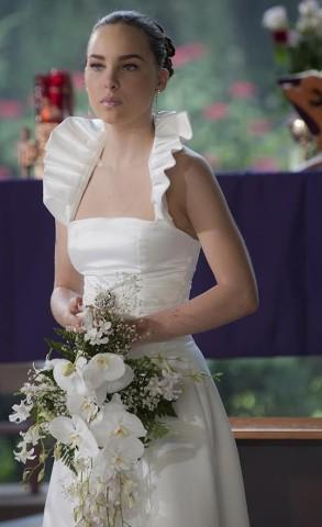 vestido de novia de belinda