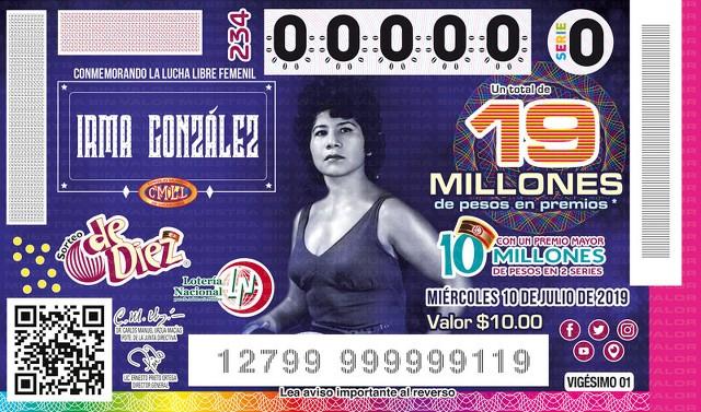 Loteria Nacional Sorteo de Diez No. 234 en Vivo – Miércoles 10 de Julio del 2019