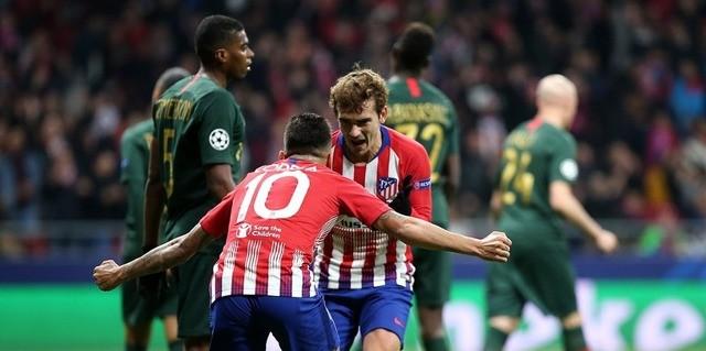 Resultado del Atlético Madrid vs AS Monaco  – Fase Grupos – Champions League