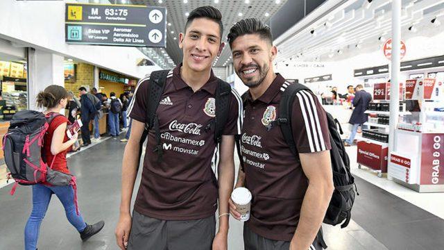 América felicita a Oribe Peralta y Edson Álvarez por ir al Mundial de Rusia 2018