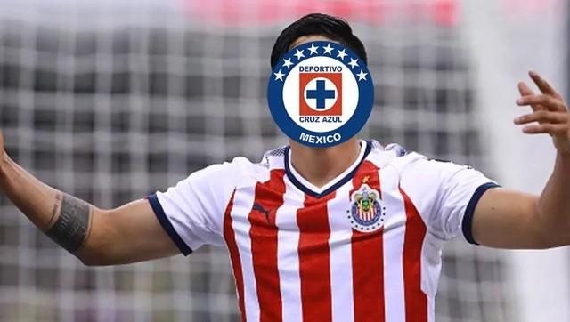Cruz Azul va por famoso delantero de Chivas