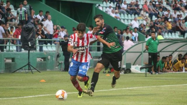 Resultado Cafetaleros de Tapachula vs Atlético San Luis en la J12 del Clausura 2019