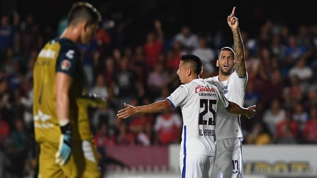 Resultado Veracruz vs Cruz Azul -Jornada 9- Apertura  2019