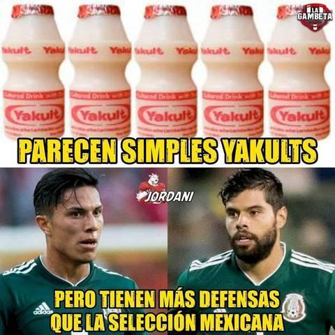 Memes del México vs Argentina