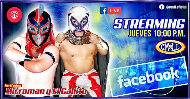 Microestrellas, Microman y El Gallito en Streaming Oficial del CMLL en Vivo – Jueves 15 de Agosto del 2019