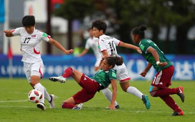 Resultado RDP Corea vs México – Femenil – Mundial Francia Sub 21