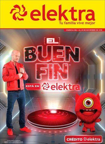 Ofertas Elektra El Buen Fin 2019