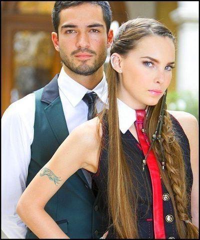 Belinda y Poncho en telenovela camaleones