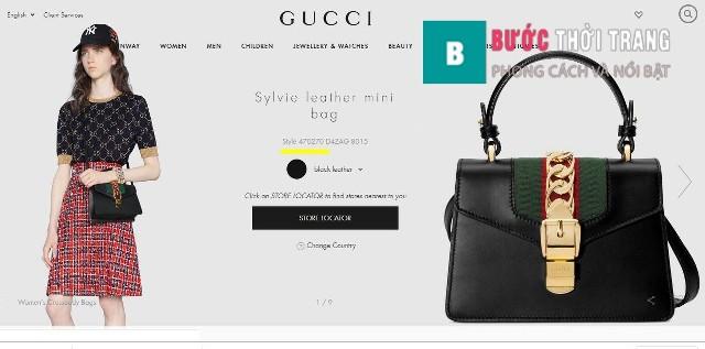 Gucci Sylvie 20 cm