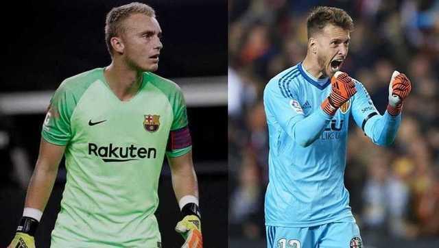 Barcelona y Valencia harán un intercambio de arqueros