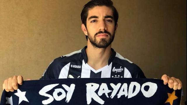 Rodolfo Pizarro ya fue presentado con Rayados del Monterrey