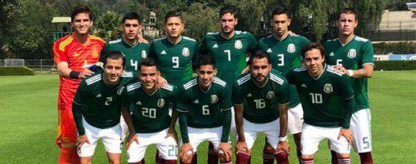 México Sub 22 pierde ante Holanda – Partido amistoso