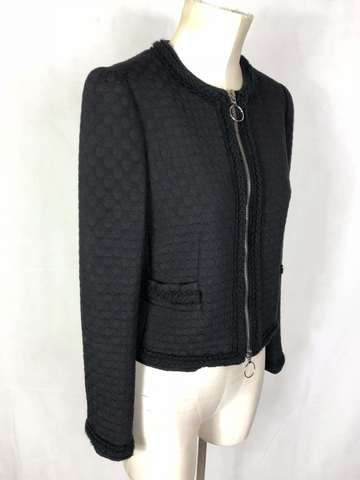 MOSCHINO CHEAP and CHIC women s Zip Jacket jacket Woman Jacket Blazer Sz.  S-42 22eb0f848ad