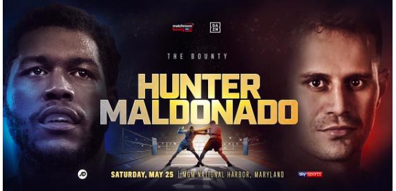 Michael Hunter vs Fabio Maldonado en Vivo – Box – Sábado 25 de Mayo del 2019