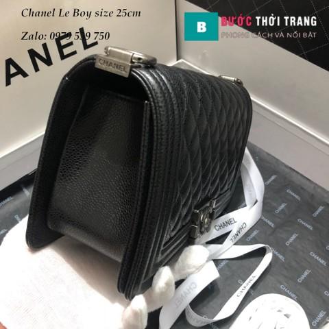 Túi Xách Chanel Boy Siêu Cấp Da Sần