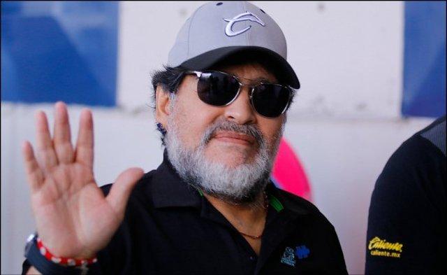 Maradona se despide de Dorados