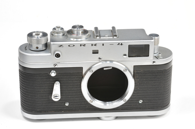 ZORKI 4 rangefinder camera body , based on Leica, after CLA, from