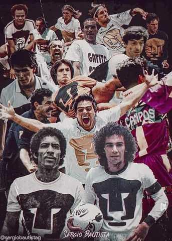 Ex jugadores de Pumas UNAM felicitan al club por su aniversario 65°