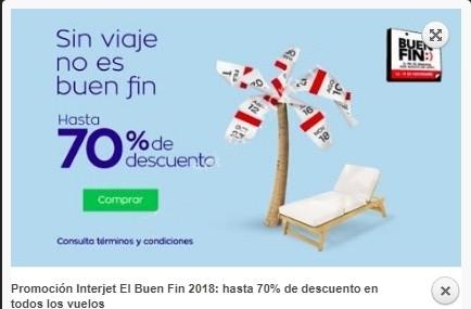 Ofertas Interjet El Buen Fin 2018