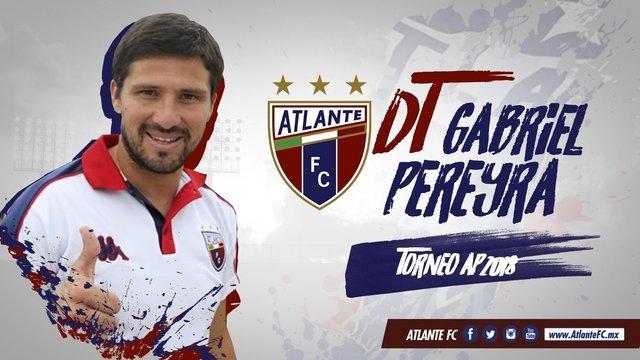 Gabriel Pereyra nuevo técnico del Atlante